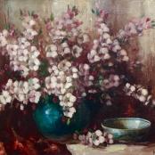 Sold   Oerder, Frans   Still life of flowers, signed