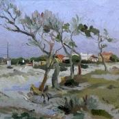 Sold  Boonzaier, Gregoire   Winter's day - Cape Flats