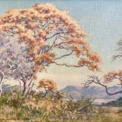 Sold | Mayer, Erich | Tree landscape, 1954