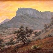 Sold | Mayer, Erich | Landscape at dawn