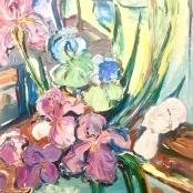 Beyers, Goe' | Green and white Irises