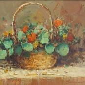 Sold|Nice, Christiaan | Pansies, flowers