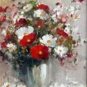 Sold | Nice, Christiaan | Daisies in a Vase