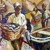 Sold | Niemann Jnr, Hennie | Catching Fish