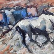 Sold   Niemann Jnr, Hennie   Wildebees Migration