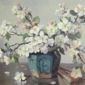 Sold | Oerder, Frans | White Blossoms