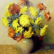 Sold | Oerder, Frans | Chrysanths