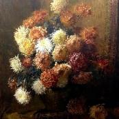 Sold   Oerder, Frans   Crysanthenums