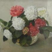 Sold | Oerder, Frans | Still life of Hydrangeas