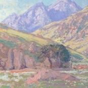 Sold |Pierneef, J.H | Berg Landskap met rotse