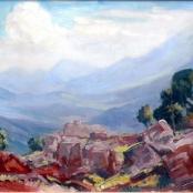 Sold   Pierneef, JH   Rocky Landscape