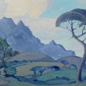 Sold   Pierneef, JH   Stellenbosch landscape