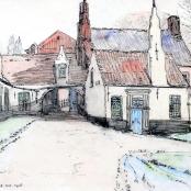Sold | Pierneef, JH | Begynen Hof, Brugge