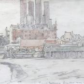 Sold   Pierneef, JH   Battersea - Thames