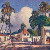 Sold | J.H Pierneef | Dar es Salaam