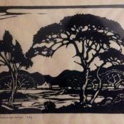 Sold | Pierneef, J.H | Swartkop river South West Africa