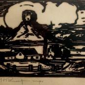Pierneef, J.H | The Sphinx Fouriesburg