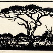 Sold   Pierneef, J.H.   Tree Landscape, dated 1922