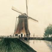Sold   Pierneef, J.H   Schie river, Rotterdam