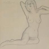Sold   Pierneef, JH   Nude portrait study