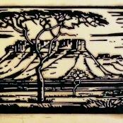Sold   Pierneef, JH   Doringboom - Landscape