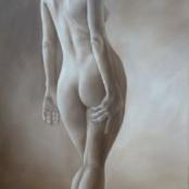 Sold | Raubenheimer, San-Mare | Standing nude