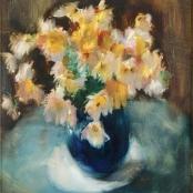 Sold | Serneels, Clement | Flowers in vase