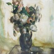 Sold |Serneels, Clement | Vase of flowers