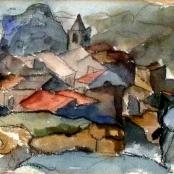 Sold |  Sumner, Maud | Les Baux
