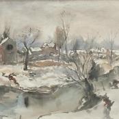 Sold | Sumner, Maud | Winter landscape