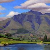 Scarlin, Oliver   Winelands view