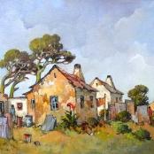 Sold | Conrad Theys | Geel Huisies - Philippi