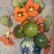 Sold | Theys, Conrad | Oranje Kappertjies, Orange Nasturtiums