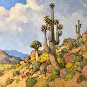 Theys, Conrad | Quiver tree landskape