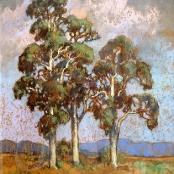 Sold | Theys, Conrad | Bluegum trees