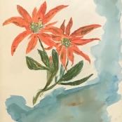 Sold | Tretchikoff, Vladimer | Still Life with Poinsettias