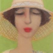 Sold | Van der Westhuizen, Pieter | Portrait of a woman