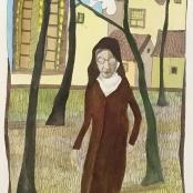 Sold | Van der Westhuizen, Pieter | Nun with dove