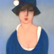 Sold | Van der Westhuizen, Pieter |  Dressed in Blue
