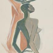 Sold | Van Essche, Maurice | Congolese Woman