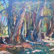 Sold   Van Heerden, Piet   The Blue Gum Trees
