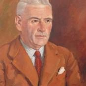 Sold | Van Heerden, Piet | Man in brown suit