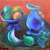 Sold | Vermeiren, Jan | Still life with blue jug