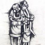 "Julian Motau - ""Street Beggars"""
